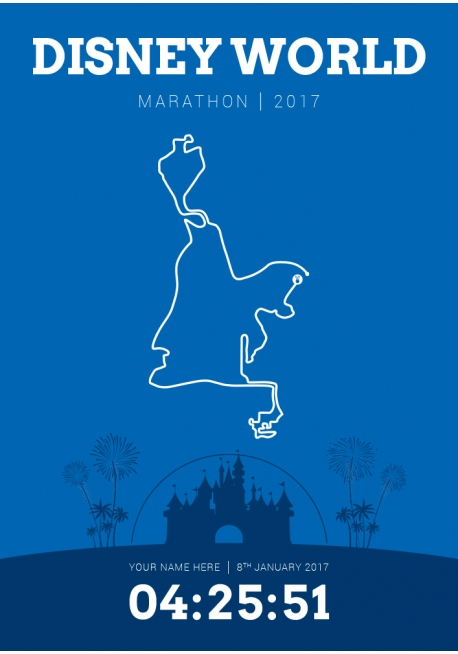 Disney World (United States) Marathon 2017