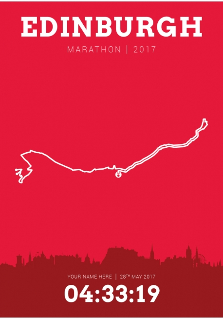 Edinburgh (Scotland) Marathon 2017