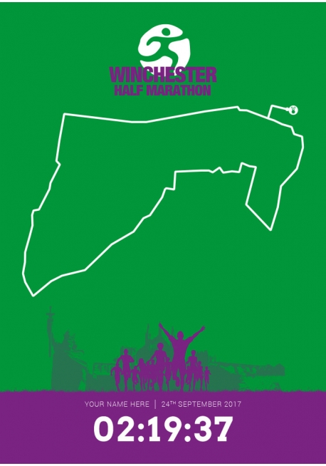 Official Winchester (United Kingdom) Half Marathon 2017