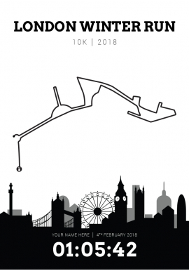 London Winter Run 10k 2018