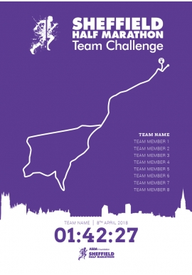 Sheffield Half Marathon Team Challenge 2018