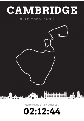 Cambridge Half Marathon 2017
