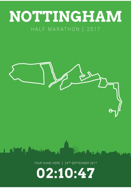 Nottingham (United Kingdom) Half Marathon 2017